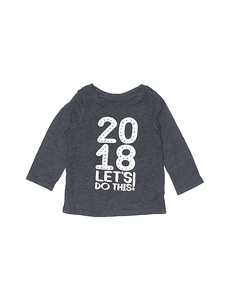 Cat & Jack Girls Long Sleeve T-Shirt Size 12 mo