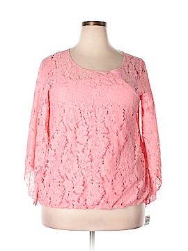 Alfani Essentials 3/4 Sleeve Blouse Size 1X (Plus)