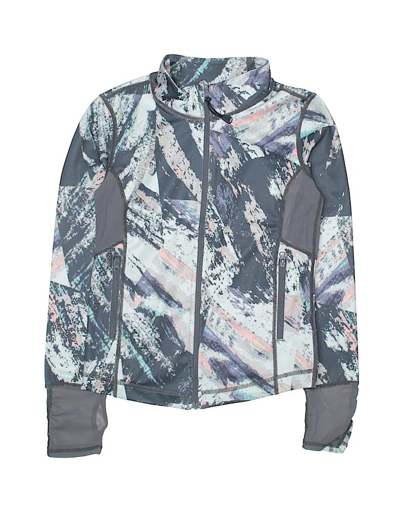 Zella Girl Girls Track Jacket Size 7 - 8