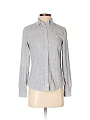 Nautica Women Long Sleeve Button-Down Shirt Size XS