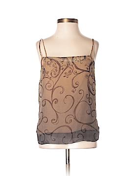 BCBGMAXAZRIA Sleeveless Silk Top Size 0