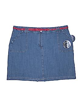 Karen Scott Denim Skirt Size 18 W (Plus)