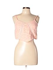 Charlotte Russe Women Sleeveless Blouse Size L