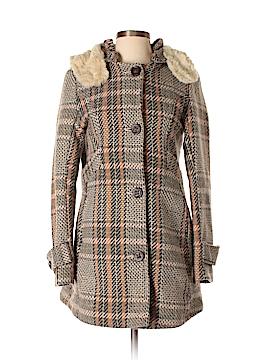 Nine West Women Wool Coat Size S