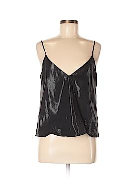 Parker Sleeveless Silk Top Size M