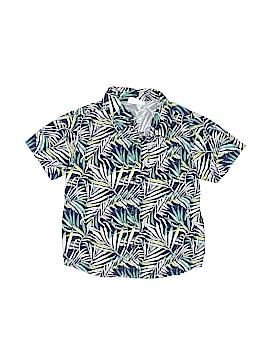 Crazy 8 Short Sleeve Button-Down Shirt Size 3T