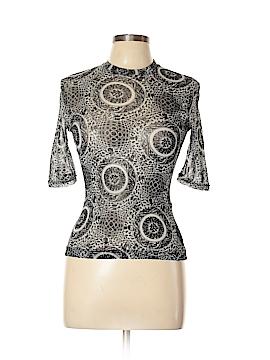 Vivienne Tam 3/4 Sleeve Top Size Lg (3)