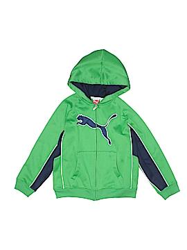 Puma Zip Up Hoodie Size 6