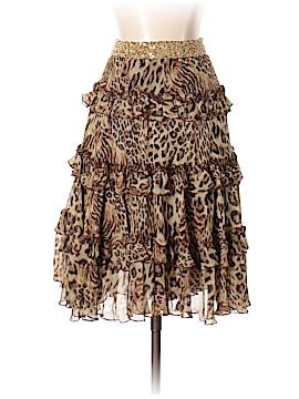 Robert Rodriguez Silk Skirt Size 4