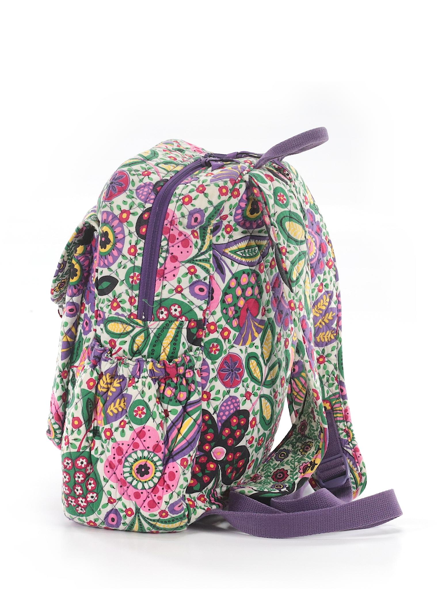 23d691b71342 Vera Bradley 100% Cotton Print Purple Backpack One Size - 61% off ...