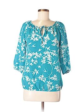 Ann Taylor LOFT Outlet 3/4 Sleeve Button-Down Shirt Size XS