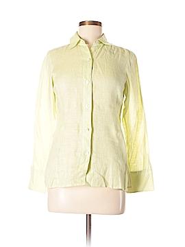Linda Allard Ellen Tracy Long Sleeve Button-Down Shirt Size 2 (Petite)
