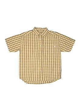 Covington Outlet Short Sleeve Button-Down Shirt Size 8