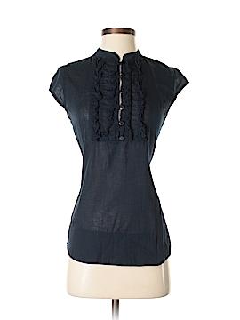 Go Fish Clothing Short Sleeve Blouse Size XS