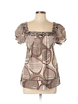Arden B. Short Sleeve Blouse Size L