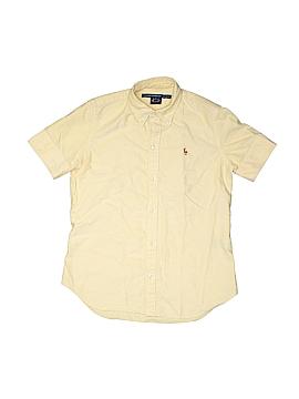 Ralph Lauren Sport Short Sleeve Button-Down Shirt Size S (Kids)