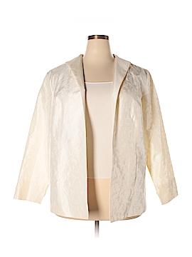 Neiman Marcus Silk Blazer Size 2X (Plus)