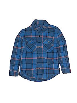 Tucker + Tate Long Sleeve Button-Down Shirt Size 4