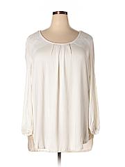 Melissa McCarthy Seven7 Women Long Sleeve Top Size 1X (Plus)