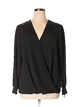Alfani Long Sleeve Blouse Size 20W (Plus)