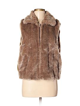 Atelier Faux Fur Vest Size M