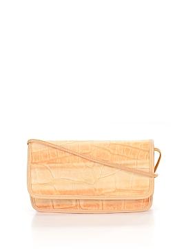 Carlos Falchi Leather Shoulder Bag One Size