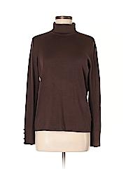 Belford Women Long Sleeve Silk Top Size M