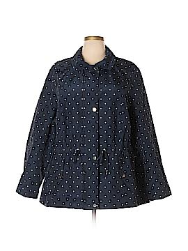 Charter Club Raincoat Size 3X (Plus)