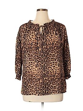 Joe Fresh 3/4 Sleeve Blouse Size XL