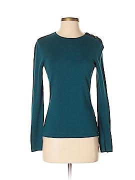 AK Anne Klein Silk Pullover Sweater Size S