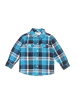 Koala Kids Long Sleeve Button-Down Shirt Size 24 mo - 2T