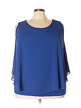 Charter Club Short Sleeve Blouse Size 3X (Plus)