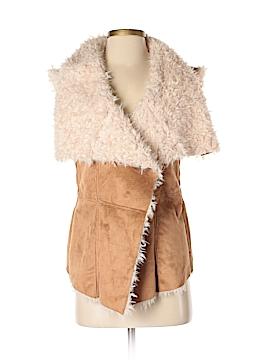 Olivaceous Faux Fur Vest Size S