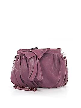 Junior Drake Leather Crossbody Bag One Size