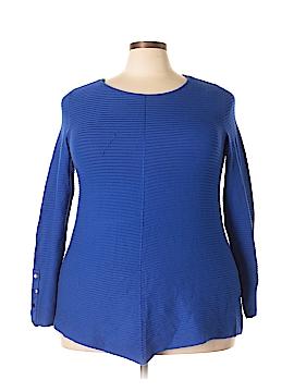 Alfani Essentials Long Sleeve Top Size 2X (Plus)