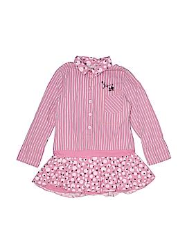 Chipie Long Sleeve Button-Down Shirt Size 6