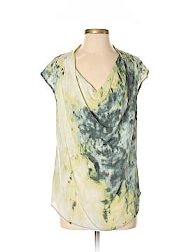 Deletta Short Sleeve Silk Top Size S