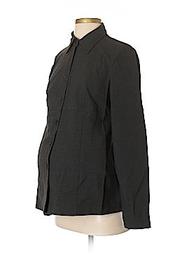 Mimi Maternity Long Sleeve Button-Down Shirt Size S (Maternity)