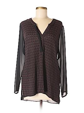 Simply Vera Vera Wang Long Sleeve Top Size XL (Petite)