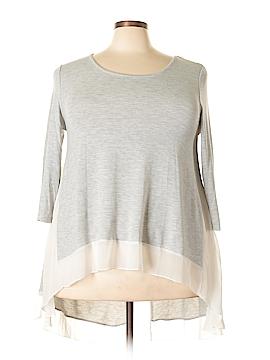 Bar III 3/4 Sleeve Top Size XXL