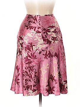 INC International Concepts Silk Skirt Size 6 (Petite)