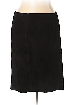Elie Tahari Leather Skirt Size 10
