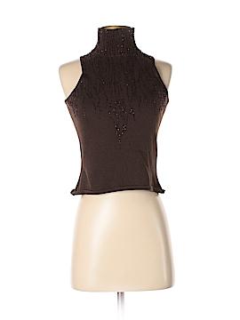 Carmen Marc Valvo Collection Sleeveless Top Size M