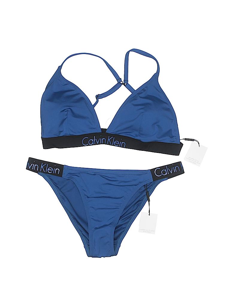Calvin Klein Women Two Piece Swimsuit Size XL