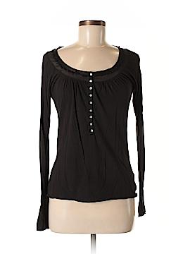 Edun Long Sleeve Button-Down Shirt Size M