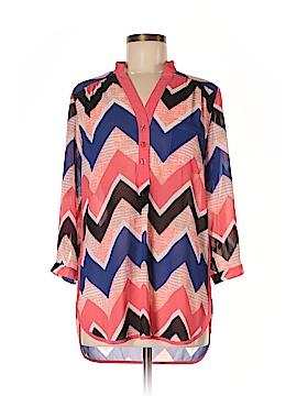 Takara 3/4 Sleeve Blouse Size M