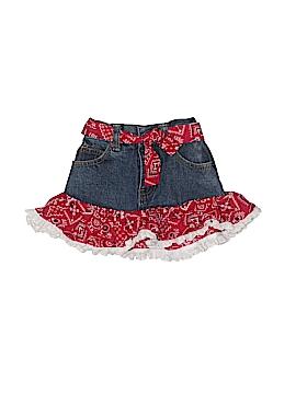 Kiddie Korral Denim Skirt Size 2