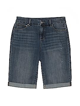 Chico's Denim Shorts Size Sm (0)
