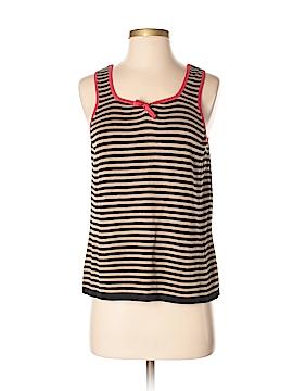Cheryl Nash Windridge Sleeveless Silk Top Size 0