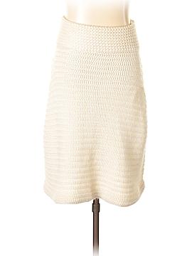 INC International Concepts Silk Skirt Size L